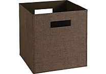 ClosetMaid® Elite Fabric Bin, Brown