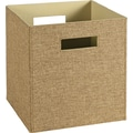 ClosetMaid Elite Fabric Bin, Light Brown or Brown