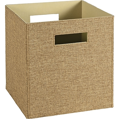 ClosetMaid Elite Fabric Bin, Light Brown