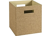 ClosetMaid® Elite Fabric Bin, Light Brown or Brown