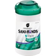 Sani-Hands® Instant Hand Sanitizing Wipes, 150 Wipes/Tub