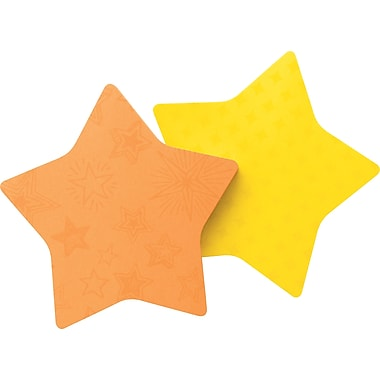 Post-it® Star-Shaped Die-Cut Memo Cube, Each
