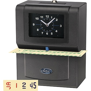 Lathem Automatic Print Time Clock (4001)