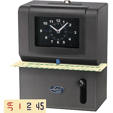 Lathem Heavy Duty 2101 Manual Time Clock