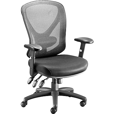 Staples Carder Mesh Task Chair, Black