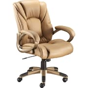 Staples® Siddons Managers Chair, Brown