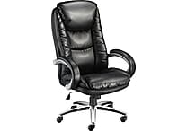 Staples Westerly™ Bonded Leather Managers Chair, Black