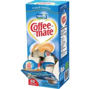 Nestlé® Coffee-mate® Liquid Coffee Creamer Singles, French Vanilla, 50/Box