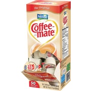 Nestlé Coffee-mate Liquid Coffee Creamer Singles, Original, 50/Box
