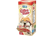 Nestlé® Coffee-mate® Liquid Coffee Creamer Singles, Original, 50/Box