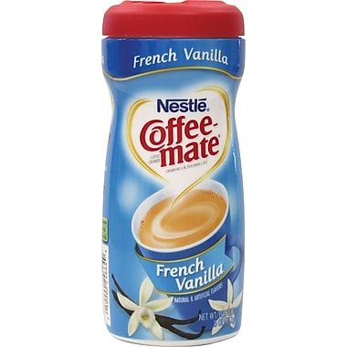 Nestlé Coffee-Mate Powdered Creamer, French Vanilla, 15 oz. Canister
