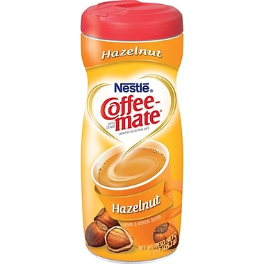 Nestlé Coffee-mate Powdered Creamer, Hazelnut, 15 oz. Canister