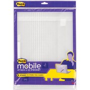 Post-it® Mobile and Go Pocket, Large, Clear, Each