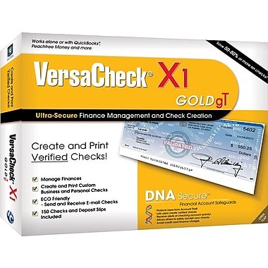 Versacheck X1 Gold gT for Windows (1-User) [Boxed]