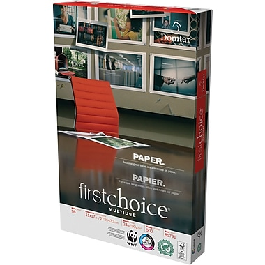 Domtar First Choice Multiuse Paper, 24 lb., 8-1/2