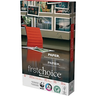 Domtar FirstChoice Multiuse Paper, 24 lb., 11