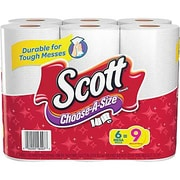 6 Pack Scott Paper Towel Rolls