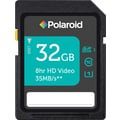 Polaroid 32GB High Speed SDHC UHS-1 CL10 35MB/sec