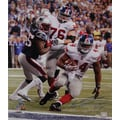 Ahmad Bradshaw Hand Signed Super Bowl XLVI Game Winning TD Photo 16x20