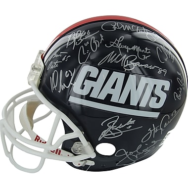 1986 New York Giants Team Signed Helmet