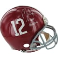 Mark Ingram Alabama Authentic Helmet w/ in.09 Heismanin. inscribed