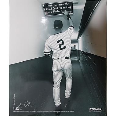 Derek Jeter Shot in the Tunnel at the Original Yankee Stadium Photo 16x20