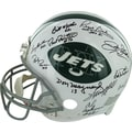 1969 New York Jets Team Signed Authentic Helmet