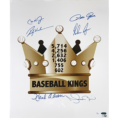 Baseball Kings Singed Photo 16x20