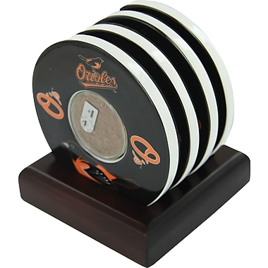 Baltimore Orioles Coasters Set of 4