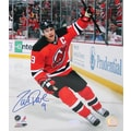 Zach Parise Penalty Shot Goal Hand Signed Photo 8x10