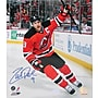 Zach Parise Penalty Shot Goal Hand Signed Photo