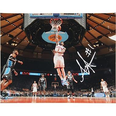 Amar'e Stoudemire Hand Signed NY Knicks Dunk Over Orlando Photo 8x10