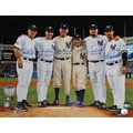 Yankees Perfect Game Battery Mates with PG Inscriptions Photo 16x20