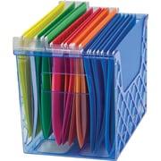 Officemate® Blue Glacier Desktop File Organizer
