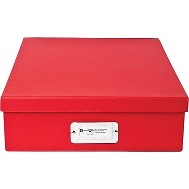 Bigso Oskar Letter Box  Red