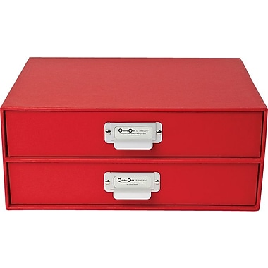 Bigso Birger 2 Drawer Chest Red