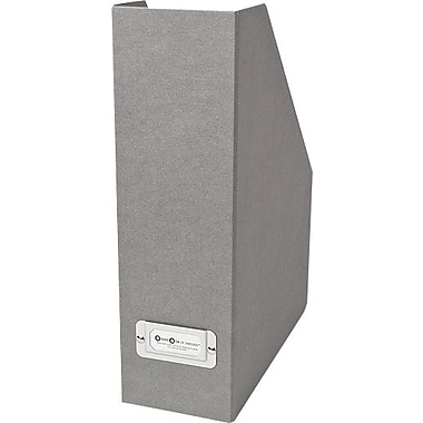 Bigso Viktoria Magazine Holder Light Grey