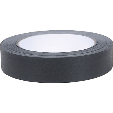 Duck Brand Colored Masking Tape, .94in. x 60 yards, Black