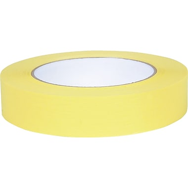Duck Brand Colored Masking Tape, .94in. x 60 yards, Yellow