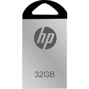 HP 32GB USB 2.0 USB Flash Drive (Mirrored Silver)