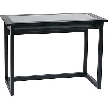 Office Star Meridian Standard Computer Desk, Black (MD2542)