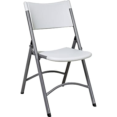 Office Star WorkSmart™ Plastic Resin Chair, White