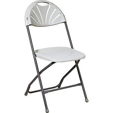 Office Star WorkSmart™ Plastic Chair, White