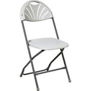 Office Star WorkSmart™ Plastic Chair, White