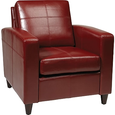 Office Star Avenue Six® Venus Club Chair, Contour Back