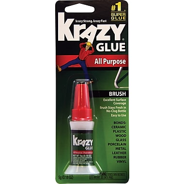 Krazy All Purpose Brush-On Glue 0.18 oz.