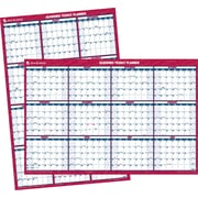 2014/2015 AT-A-GLANCE® Academic Large Vertical/Horizontal Erasable Wall Planner, 32 x 48