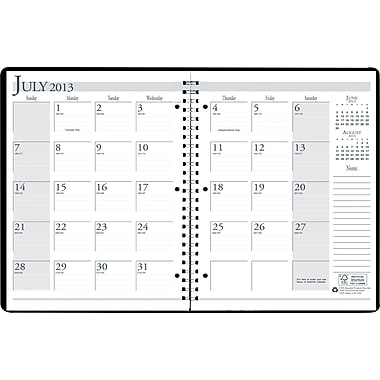 2013/2014 House Of Doolittle® Academic Monthly Planner, 8 1/2in. x 11in.