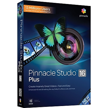 Pinnacle Studio 16 Plus for Windows (1-User) [Boxed]