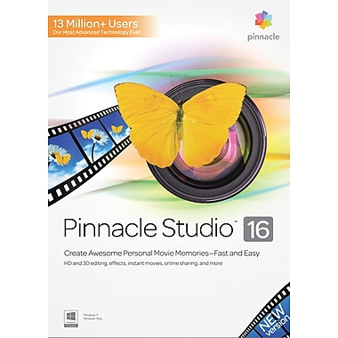Pinnacle Studio 16 for Windows (1-User) [Boxed]